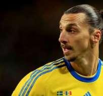 El sueco Zlatan Ibrahimovic podría llegar al Manchester United para la próxima temporada.