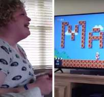 Pam Edwards aceptó finalmente la singular propuesta de matrimonio de su novio gamer. Foto: Captura de YouTube