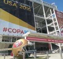 El Levi´s Stadium fue escenario del pasado Super Bowl 50. Es el último escenario deportivo de la NFL.