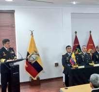 Fuerzas Armadas iniciaron curso de Comando y Estado Mayor Conjunto. Foto: @FFAAECUADOR