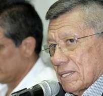 El presidente de la FEF, Carlos Villacís, considera que la selección ha sido maltratada durante su estancia en Estados Unidos.