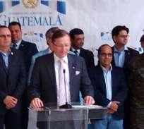 GUATEMALA.- La decisión fue adoptada durante una junta del Gabinete convocada por el presidente en funciones, Jafeth Cabrera. Foto: Presidencia Guatemala.