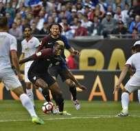 Estados Unidos goleó 4-0 a Costa Rica y revivió en el Grupo A de la Copa América Centenario.
