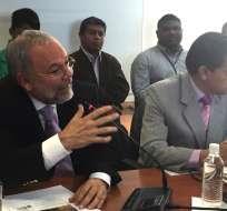 Según Mauro Andino, el exministro no entregó declaraciones patrimoniales de años pasados. Foto: Francisco Garcés / Ecuavisa