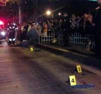Testigos afirman que la víctima cayó del bus y fue arrollada por las llantas traseras. Foto: @MiriamBustosB