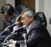 GUAYAQUIL, Ecuador.- Villacís asumió la presidencia de la FEF tras la salida de Luis Chiriboga. Foto: ANDES.