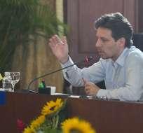 El canciller Long anunció que la medida será expuesta en la próxima Asamblea General. Foto: Cancillería