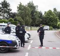 Larossi Abballa fue abatido horas después del doble asesinato en casa de la pareja. Foto: EFE