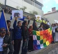 Solicitan que se declare una moratoria de 10 años a la explotación minera en el país. Foto: Twitter / Carlos Pérez Guartambel