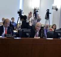 EE.UU.- La reunión del 21 de junio convocará a expresidentes de España, Panamá y R. Dominicana. Foto: Archivo