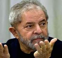 BRASIL.- El expresidente de Brasil Luiz Inácio Lula da Silva recurrió la decisión del Tribunal Supremo de transferir la causa que pesa sobre él al juez Sergio Moro. Foto: Archivo