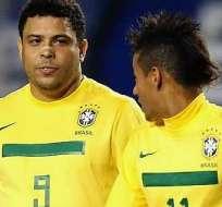 RÍO DE JANEIRO, Brasil.- Ronaldo aún no acepta el reto.
