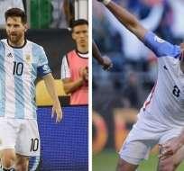 Lionel Messi y Clint Dempsey son las figuras en sus respectivas selecciones.