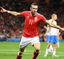 Gareth Bale es la figura de Gales en la Eurocopa de Francia al anotar en partidos claves para la clasificación.