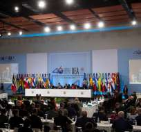 El Gobierno venezolano manifestó que Luis Almagro no está legitimado para solicitar sesión. Foto: EFE