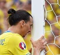 El sueco Zlatan Ibrahimovic anunció que no jugará más en su selección.