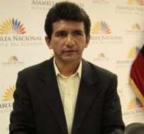 El exasambleísta pide en el organismo que se investigue casos de persecución en el Ecuador. Foto: API