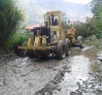 Varias quebradas como Chiriyacu y Cristogallo se desbordaron por el exceso de agua.