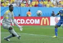 QUITO, Ecuador.- Domínguez atajó en el Mundial Brasil 2014 y en la Copa América 2015 y 2016.