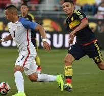 Estados Unidos y Colombia se enfrentaron en el partido inaugural de la Copa América Centenario.