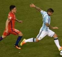 Argentina y Chile disputan la final de la Copa América Centenario en el MetLife Stadium.