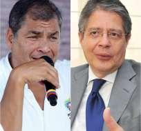 Rafael Correa y Guillermo Lasso