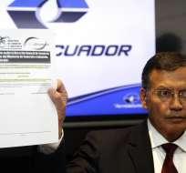 QUITO, Ecuador.- Petro Merizalde aclaró que la compañía constituida no generó actividad comercial. Foto: API