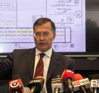 Pedro Merizalde, gerente de Petroecuador reconoce que la constituyó en octubre del 2012. Foto: Petroecuador