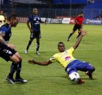 SANGOLQUÍ, Ecuador.- Independiente no logró vencer al Delfín. Foto: API.