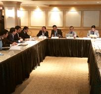 GUAYAQUIL, Ecuador.- Ministros y empresarios del Consejo Sectorial de la Producción sesionaron en Guayaquil. Foto: Ministerio de la Producción