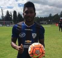Jonathan González jugará por seis meses en Independiente del Valle.