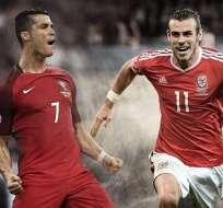 Cristiano Ronaldo y Gareth Bale se enfrentarán con sus selecciones por el pase a la final.