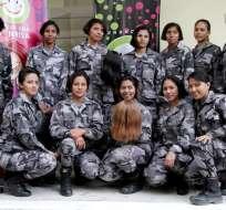 Esta actividad fue el preámbulo al ingreso oficial al I Curso Avanzado de Mujeres y XVII de Hombres del GIR. Foto: Ministerio del Interior