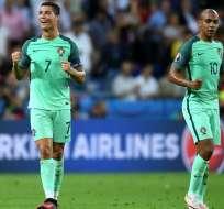 Cristiano Ronaldo podría ganar primer título con su selección si vence a Francia en la final.