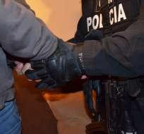 El ministro del Interior anunció que Óscar Z. fue detenido en la provincia de Manabí. Foto: Referencial