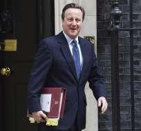 """David Cameron dijo que ha sido un """"privilegio"""" haber servido al Reino Unido en los últimos seis años. Foto: EFE"""