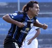 GUAYAQUIL, Ecuador.- Sornoza es el eje del ataque de Independiente.