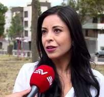 """Según Pamela Aguirre, líder del colectivo """"Rafael Contigo Siempre"""", la consulta que su grupo plantea."""