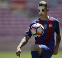El francés Lucas Digne es el tercer refuerzo que suma el FC Barcelona esta temporada.