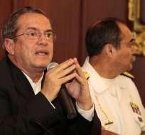 ECUADOR.- El ministro de Defensa explicó la propuesta de regulación de las pensiones militares. Foto: API