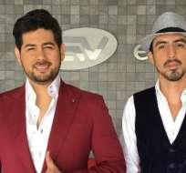 GUAYAQUIL, Ecuador.- Fernando Escobar y Rafael Baquerizo, miembros de la banda, indicaron que pronto tendrán una gira promocional que iniciará en Guayaquil. Foto: Instagram Equilivre.