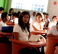 GUAYAQUIL, Ecuador.- Según el cronograma del Ministerio de Educación, los alumnos tendrán vacaciones el 29 de julio. Foto: Archivo