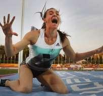 LAUSANNA, Suiza.- Yelena Isinbayeva no tendrá la oportunidad de ganar su tercera medalla de oro olímpica. Foto: AFP.