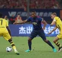 Antonio Valencia es capitán nuevamente en el Manchester United, que dirige ahora José Mourinho.