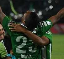 MEDELLÍN, Colombia.- Borja fue decisivo en los partidos finales de la Copa. Foto: AFP.