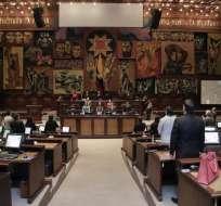 Asambleístas, durante la sesión de este 28 de julio de 2016. Foto. Asamblea Nacional