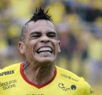 GUAYAQUIL, Ecuador.- Álvez es la carta de gol de Barcelona. Foto: API.