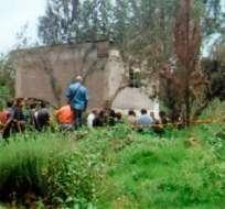 En este lugar de Milpa Alta ocurrió el asesinato de las tres víctimas.
