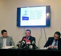 Lo acusan del uso de un documento supuestamente falso, con el que se sancionó a emisoras. Foto: Fundamedios