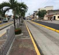 Un hombre de 52 años murió arrollado por un articulado en la avenida Domingo Comín. Foto: Twitter